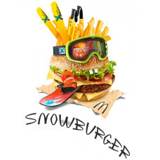 Снежный бургер