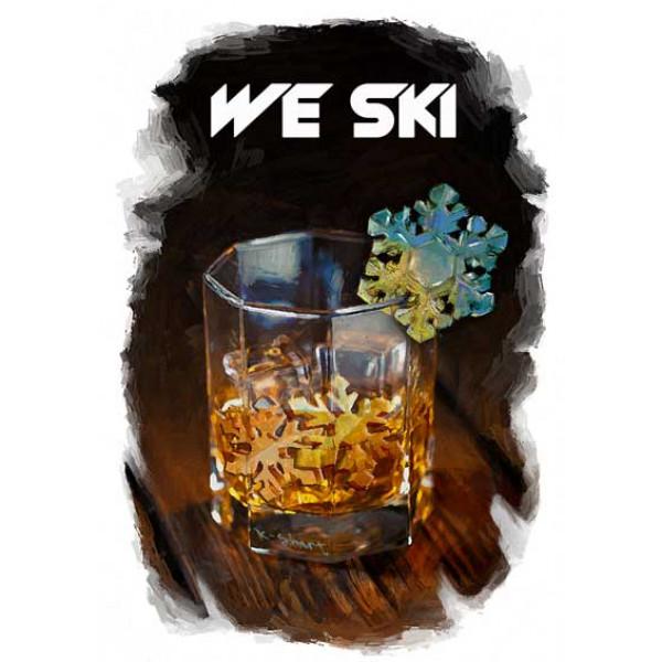 Экстремальная футболка - WE SKI - коллекция комикс от X-shirt.ru