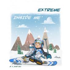 Экстремал горнолыжник внутри меня