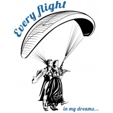 Every flight in my dreams