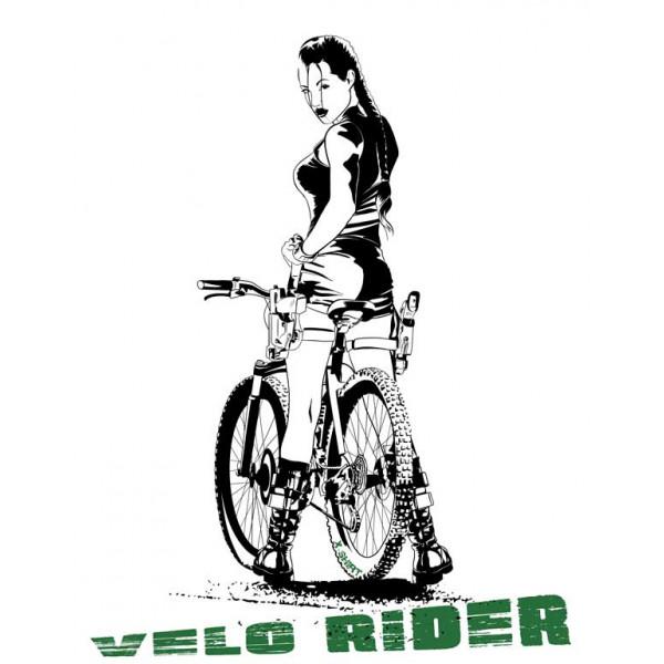 Экстремальная футболка - Вело райдер - коллекция мемы от X-shirt.ru