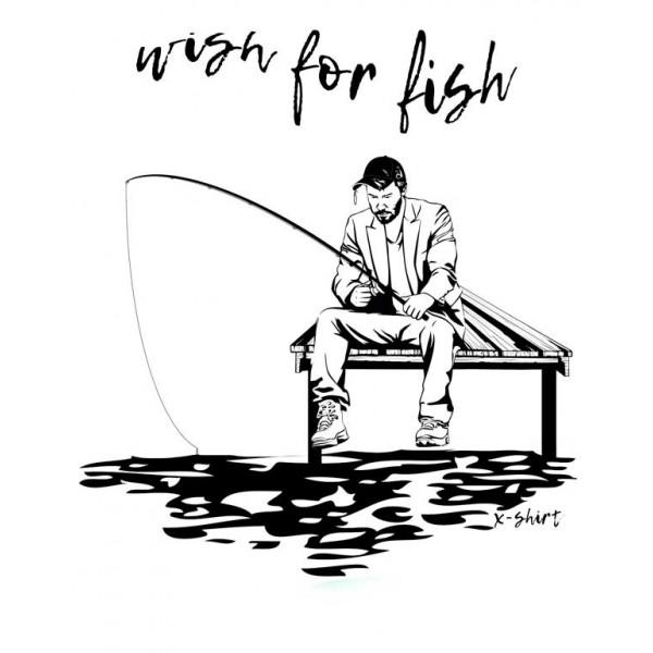 Экстремальная футболка - Киану на рыбалке - коллекция мемы от X-shirt.ru