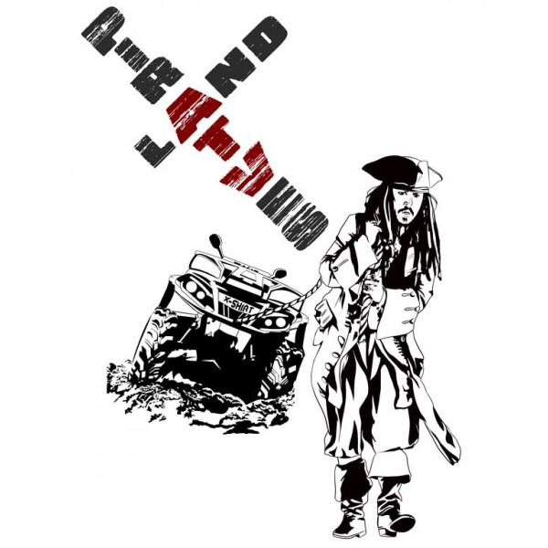 Экстремальная футболка - Пираты суши - коллекция мемы от X-shirt.ru