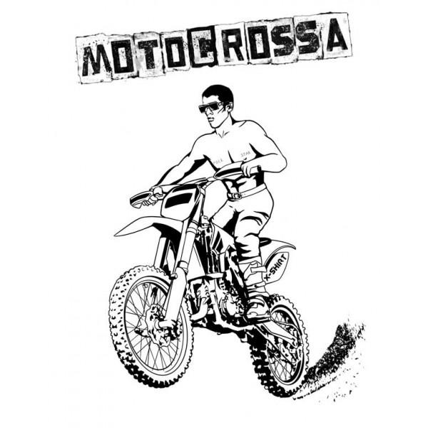 Экстремальная футболка - Motocrossa - коллекция мемы от X-shirt.ru