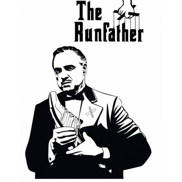 Экстремальная футболка - Отец бега - коллекция мемы от X-shirt.ru