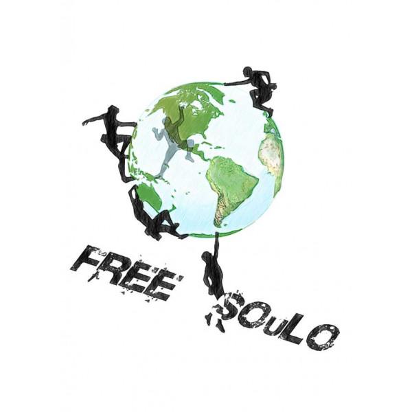 Экстремальная футболка - FREE SOuLO - коллекция mix от X-shirt.ru