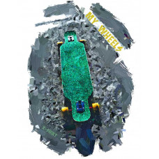 Скейт в стиле масло